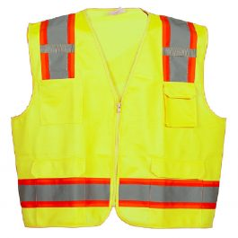 Flame Resistant FR High Visibility Hi Vis Coverall 88/% C//12/% N X-Large, Khaki
